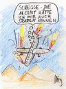 Cartoon: Billig Airline (small) by ralphmeiling tagged airline,flugzeug,flieger,absturz
