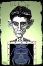 Cartoon: Franz Kafka (small) by jean gouders cartoons tagged franz,kafka,bugs,jean,gouders,literature