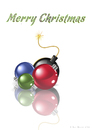 Cartoon: Christmas Balls (small) by Alf Miron tagged weihnachtskugel,xmas,ball,christmas,balls,bomb,terror,terrorists,bombing,war,peace