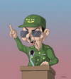 Cartoon: Castro s Forever (small) by lloyy tagged politics,politica,famous,power,poder,cuba,caricature,caricatura