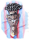Cartoon: Frank Rijkaard (small) by lloyy tagged fifa football futbol fußball soccer wm world cup