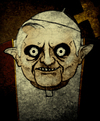 Cartoon: Pope (small) by Hentamten tagged pope,ratzinger
