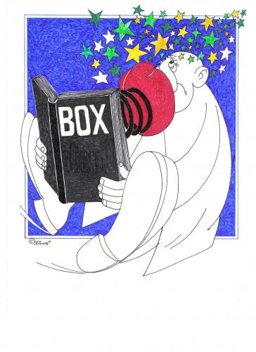 Cartoon: box (medium) by ruditoons tagged buch,