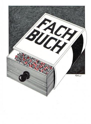 Cartoon: fachbuch (medium) by ruditoons tagged buch,