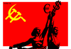 Cartoon: May Day (small) by srba tagged may,day,workers,hammer,sickle,euro,dolars,money,kolkhoz