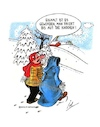 Cartoon: Eiskalt (small) by irlcartoons tagged eiskalt,kalt,wintereinbruch,winter,schnee,schneefall,temperaturen,minusgrade,tod,spaziergang,schneewandern,frost,dezember,januar,februar,kältewelle,kälteperiode,polarluft,temperatursturz