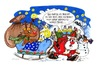 Cartoon: Merry Christmas (small) by irlcartoons tagged weihnachten christmas weihnachtsmann rentier rudolf schlitten schnee dezember winter weihnachtswunsch geschenke wunsch wünsche rentierschlitten nikolaus
