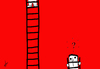 Cartoon: escalera (small) by ANTRUEJO tagged escalera,ladder,ger,antruejo