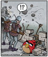 Cartoon: Angry Middle Ages (small) by thopman tagged angry,birds,cartoon,singlepanel,middleages