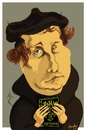 Cartoon: Luther... (small) by Bravemaina tagged luther
