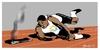Cartoon: Olympic Mishap (small) by Bravemaina tagged chicago,olympics,2016