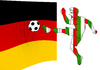 Cartoon: Euro 2012 soccer Germany - Italy (small) by fengai tagged euro,2012,germany,italy,soccer
