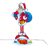 Cartoon: Santa Claus (small) by fengai tagged skinny,santa,claus,new,year,gifts,toys
