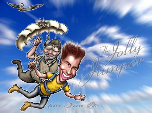 Cartoon: the jolly jumper (medium) by elle62 tagged elle62