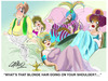 Cartoon: The Harem (small) by LAINO tagged harem