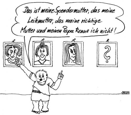 Cartoon: ohne Titel (medium) by besscartoon tagged bess,scheidung,vater,ehe,mutter,kind,familie,kinder,besscartoon