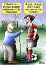 Cartoon: Ääää (small) by besscartoon tagged fussball,kopfball,dumm,sport,rtf,ssv,reutlingen,interview,bess,besscartoon