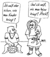 Cartoon: Ätsch... (small) by besscartoon tagged kinder,verhütung,schwanger,sex,bess,besscartoon