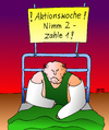 Cartoon: Aktionswoche (small) by besscartoon tagged krank,krankenhaus,gips,geld,bess,besscartoon