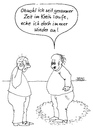 Cartoon: Anecken (small) by besscartoon tagged männer,kreis,laufen,anecken,bess,besscartoon