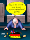 Cartoon: Armes Deutschland (small) by besscartoon tagged mann,kultur,kulturbeutel,badezimmer,bess,besscartoon