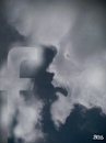 Cartoon: cloud face 11 (small) by besscartoon tagged himmel,wolken,gesicht,facebook,bess,besscartoon