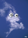 Cartoon: cloud face 5 (small) by besscartoon tagged fussball,blatter,wm,brasilien,sepp,raffgier,geld,fresse,wolke,himmel,bess,besscartoon