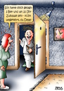 Cartoon: Depp (small) by besscartoon tagged mann,frau,paar,beziehung,bier,trinken,saufen,alkohol,alter,bess,besscartoon