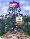 Cartoon: First Class Friedhof (small) by besscartoon tagged friedhof,first,class,sterben,tod,probeliegen,bess,besscartoon