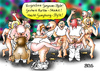 Cartoon: Gangbang Style (small) by besscartoon tagged tanzen,tanz,gangnam,style,harlem,sheke,gangbang,sex,musik,erotik,verkehr,nackt,bess,besscartoon