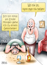 Cartoon: Geistheiler (small) by besscartoon tagged mann,frau,paar,beziehung,ehe,geistheiler,bess,besscartoon