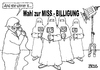 Cartoon: Miss-Billigung (small) by besscartoon tagged the,winner,is,missbilligung,misswahl,frauen,burka,islam,integration,emanzipation,flüchtlinge,religion,toleranz,bess,besscartoon