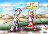 Cartoon: Nordic Stalking (small) by besscartoon tagged mann,frau,nordic,walking,stalking,sex,misshandlung,belästigung,bess,besscartoon