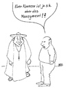 Cartoon: ohne Titel (small) by besscartoon tagged religion,pfarrer,kirche,männer,bess,besscartoon