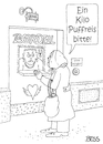 Cartoon: Puffreis (small) by besscartoon tagged bordell,puff,frau,mann,einkaufen,puffreis,bess,besscartoon