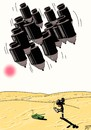 Cartoon: Bombs (small) by Vlado Mach tagged bomb,dessert,black,africa,agression