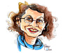 Cartoon: draw me contest (small) by Palmas tagged bookstore