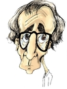 Cartoon: woody allen (small) by lucholuna tagged allen woody