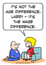Cartoon: age difference wage proposal (small) by rmay tagged age,difference,wage,proposal