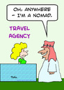 Cartoon: anywhere Im a nomad (small) by rmay tagged anywhere,im,nomad