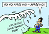 Cartoon: apres moi obama deluge (small) by rmay tagged apres,moi,obama,deluge
