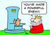 Cartoon: cat king powerful enemy (small) by rmay tagged cat,king,powerful,enemy
