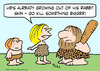 Cartoon: caveman kill something bigger (small) by rmay tagged caveman,kill,something,bigger