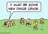 Cartoon: caveman new dance craze upright (small) by rmay tagged caveman,new,dance,craze,upright