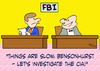 Cartoon: cia investigate fbi (small) by rmay tagged cia,investigate,fbi