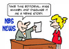 Cartoon: disguise editorial news story (small) by rmay tagged disguise,editorial,news,story