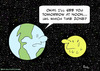 Cartoon: earth moon noon time zone (small) by rmay tagged earth,moon,noon,time,zone