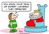 Cartoon: expert lawyers defected king (small) by rmay tagged expert,lawyers,defected,king