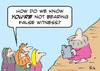Cartoon: Moses bears false witness? (small) by rmay tagged commandment,moses,bear,false,witness