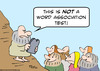 Cartoon: word association moses (small) by rmay tagged word association moses